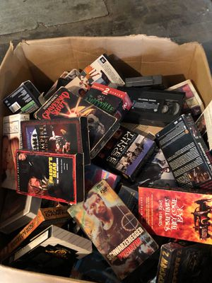 They are for a VCR and I'm just trying to get them to someone because I don't want them for Sale in Independence, IA