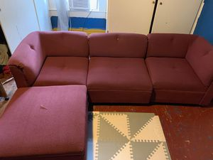 Sectional couch for Sale in Durham, NC