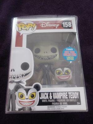 Funko Jack & Vampire Teddy #158 (NY CC LE) Pop for Sale in Meriden, CT