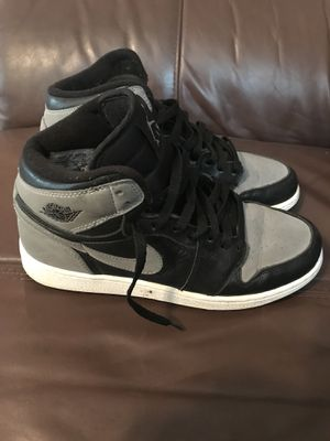 Air Jordan 1 I size 7 Shadow 2009 Suede for Sale in Chicago, IL