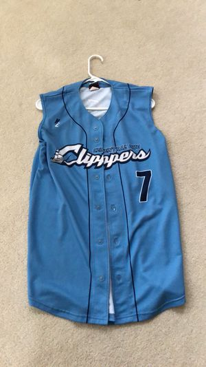 Central Ohio Clippers Minor League Baseball Jersey size Medium for Sale in Brookeville, MD