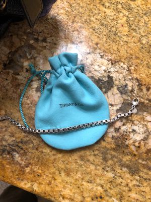 Silver Tiffany and Co chain bracelet for Sale in Sherwood, OR