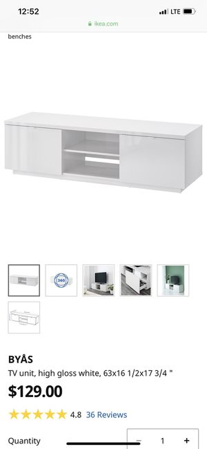 Ikea tv stand for Sale in San Jose, CA