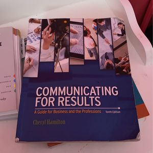 Communicating For Results 10th Edition for Sale in Houston, TX