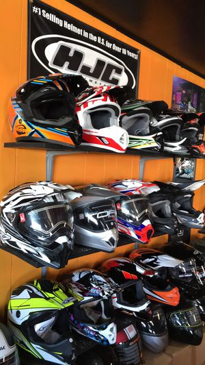 Off road dirt bike motorcycle helmet s $75 and up for Sale in Whittier, CA