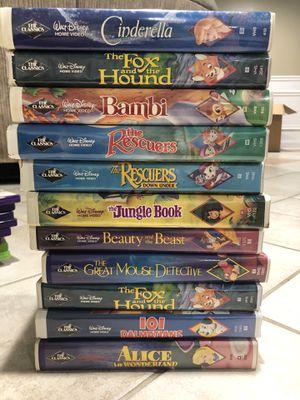 Disney VHS BLACK DIAMOND SERIES for Sale in Macomb, MI