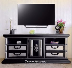 One of a kind entertainment center by Tucson Junksters for Sale in Tucson, AZ