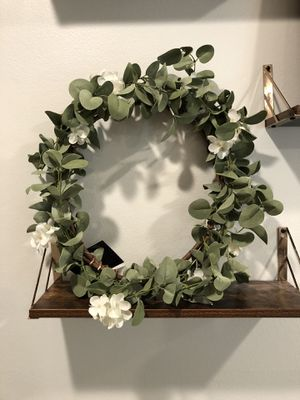 Home Decor - Faux Summer Wreaths with Flowers Wedding Decor for Sale in Wheaton, IL