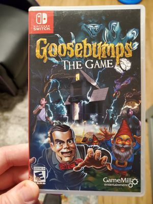 Goosebumps The Game - Nintendo Switch for Sale in Tigard, OR