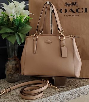 Coach purse 100% Authentic beige color for Sale in Temecula, CA