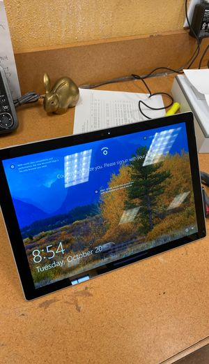 Microsoft surface pro model 1796 for Sale in Houston, TX