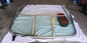 Sea ray windshield with wiper and logos for Sale in Spring Hill, FL