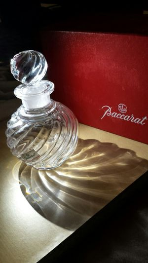 *Baccarat Crystal Vintahe Vanity Perfume Bottle for Sale in Fairfax, VA