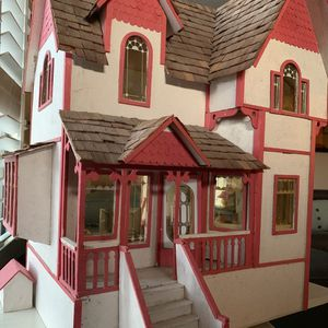 Vintage Doll House With Furniture 42 Pieces for Sale in Scottsdale, AZ