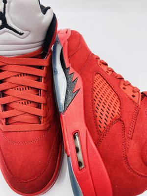 Jordan Retro 5s Red Suede size 9 for Sale in Jacksonville, FL