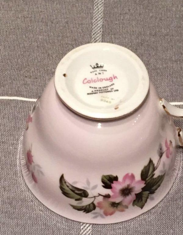 Pink Floral Tea Cup