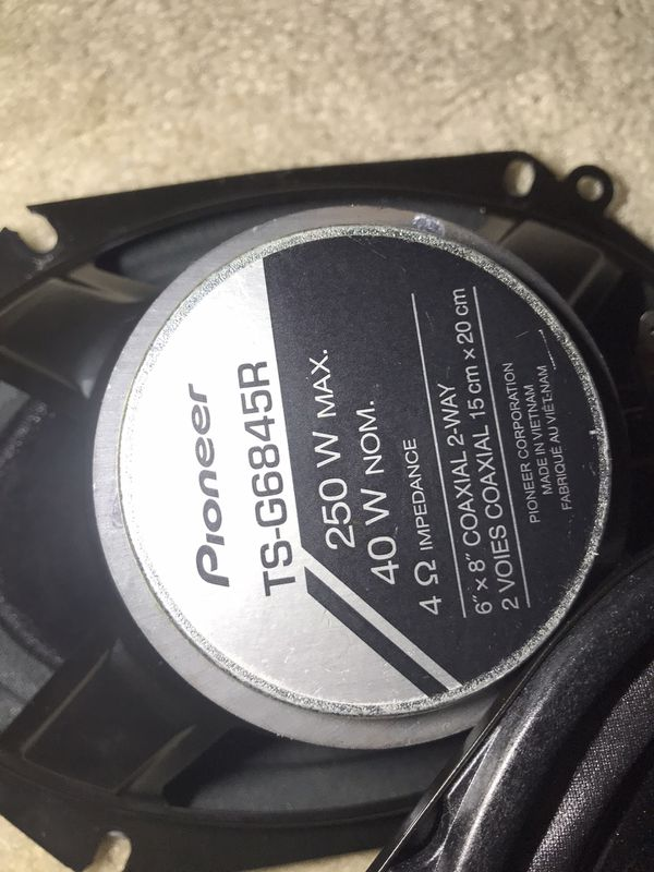 Speakers for Mazda or Ford