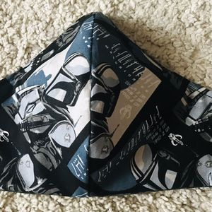 Mandalorian / Star Wars Face Mask With Nose Wire And Adjustable Ear Loop for Sale in Seattle, WA