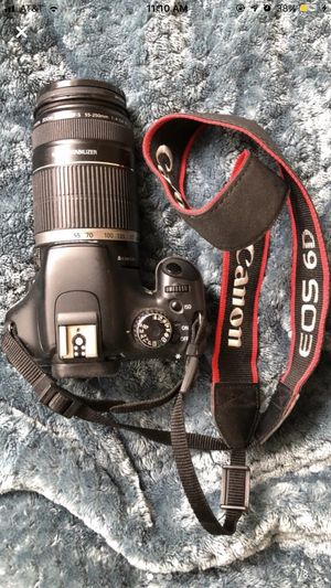 Canon Rebel T2i Camera Body + Lens Bundle for Sale in Mahopac, NY