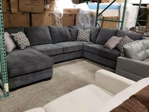 New Ashley furniture u shape sectional sofa tax included free delivery for Sale in Hayward, CA