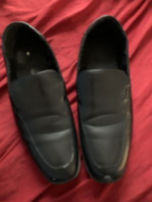 Men's Deer Stag leather shoes size 10 for Sale in Trenton, NJ