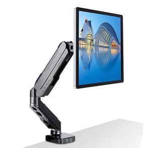 "Single Monitor Mount Stand Full Motion Swivel Monitor Desk Arm for 15""-27"" LCD LED Screens from 2kg to 6.5kg with C-Clamp and Cable Management for Sale in Rancho Cucamonga, CA"