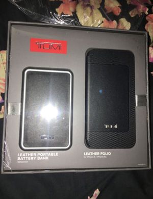 * Last One * New Iphone Leather Case and Portable Battery Bank for Sale in Chino, CA