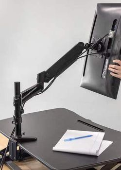 NEW 15 to 27 Inch 360 Degrees Articulating Computer LED LCD Screen Monitor Mount Bracket Stand Clamp On for Sale in West Covina,  CA