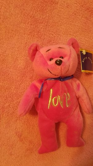 """Brand new Valentine's day pink """"love"""" bear for Sale in Williamsport, PA"""