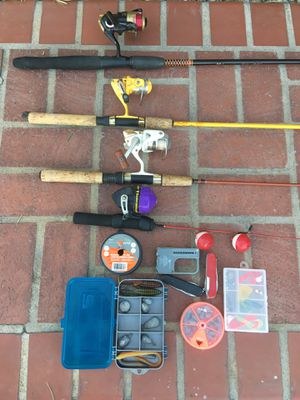 Fishing rod for Sale in Moreno Valley, CA