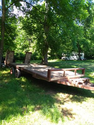 28 foot dovetail trailer for Sale in US