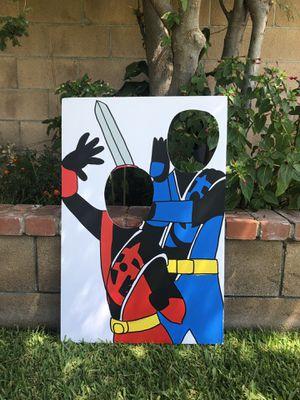 power rangers ninja steel photo booth party prop (20x30infoamboard) for Sale in CTY OF CMMRCE, CA