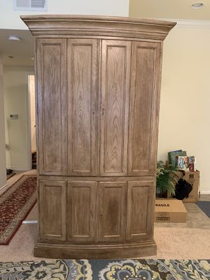 Armoire for sale $190 or best offer...must pick in Montgomery for Sale in Montgomery, TX