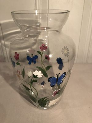 Lenox Vase Butterflies & Flowers for Sale in Tinicum Township, PA