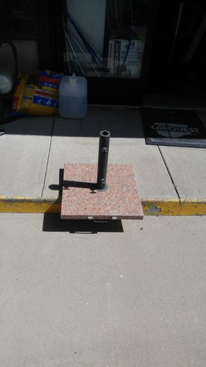 Marble base with wheels and handle 20 x 20 in by 16 in for Sale in UT, US