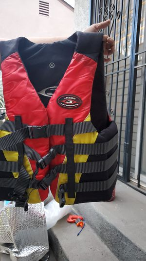 Jobe Life vest for adults size XL for Sale in Los Angeles, CA