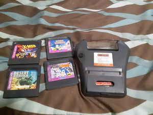 SEGA Game Gear Game Genie with Games for Sale in Crestview, FL