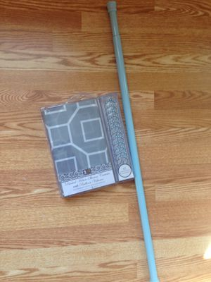 New shower curtain with rod for Sale in Derwood, MD