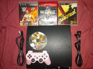 PS3 Slim [250gb] Bundle 10+ Games for Sale in Los Angeles, CA