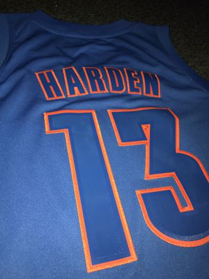 James Harden Christmas Thunder Jersey for Sale in Normal, IL