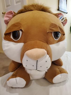 Lion -large doll. Brand new with tag. Dimensions -(32 inches height x 24 inches width). for Sale in Las Vegas, NV