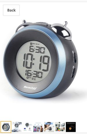 REACHER Twin Bell Alarm Clock for Sale in Lynwood, CA