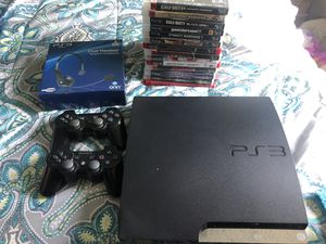 PS3 Console w 2 Controllers & Games for Sale in Franklin, TN