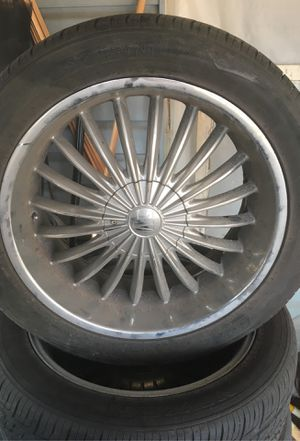 18in rims and tires for Sale in Kansas City, MO