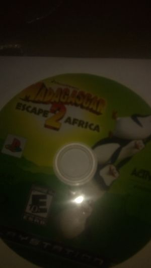 Madagascar escape 2 Africa ps3 for Sale in Fontana, CA