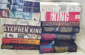Stephen King Books Hard Cover qty 13 for Sale in Safety Harbor, FL