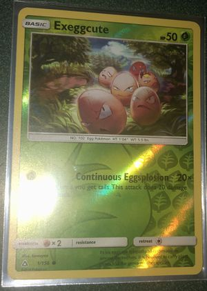 Exeggcute Pokemon Card for Sale in Taylors, SC