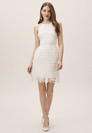 BHLDN Aidan Mattox Promenade Fringe Dress for Sale in Milpitas, CA