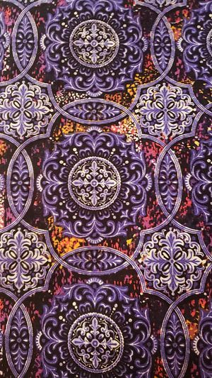 1.5 yards of beautiful purple medallion fabric for Sale in Mount Laurel Township, NJ