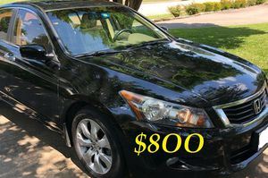 💝✅$8OO URGENT I sell my family car 2OO9 Honda Accord EX-L Everything is working great!💕💝 Runs great and fun to drive!!🟢🎁 for Sale in New Haven, CT
